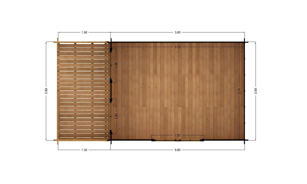 Log Cabins Factory Direct | Alva