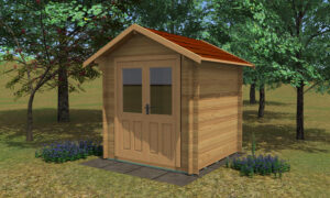 Bromham Log Cabin