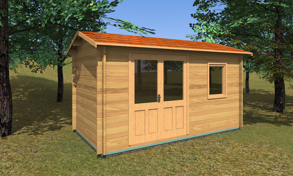 Erna Log Cabin