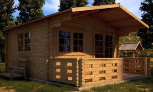 Log Cabins Factory Direct   Linus