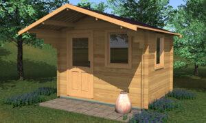 Modena Log Cabin