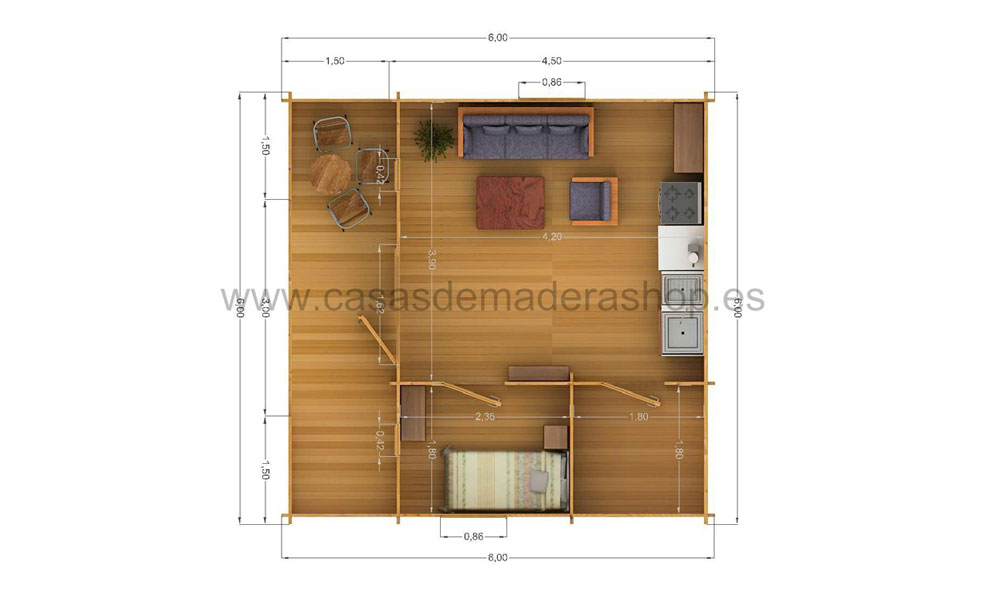 Log Cabins Factory Direct   Padova