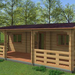Alma Log Cabin