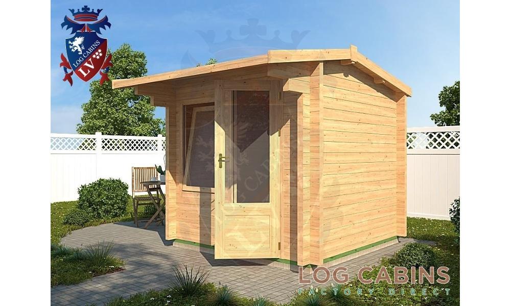 Aylsham Log Cabin Alternate View
