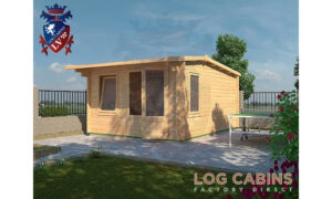 Bedford Log Cabin Alternative View