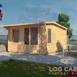 Bedford Log Cabin Alternative View