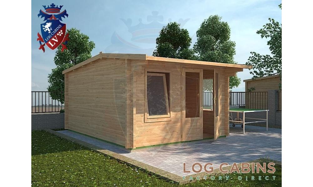 Bedford Log Cabin