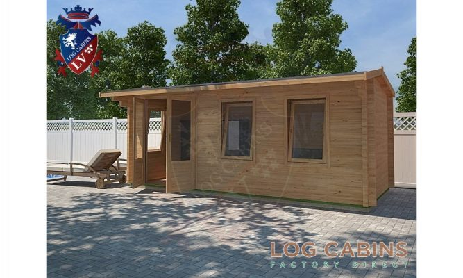 Bristol Log Cabin Alternative View