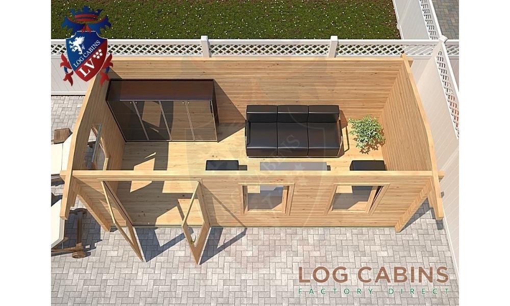 Bristol Log Cabin Plan