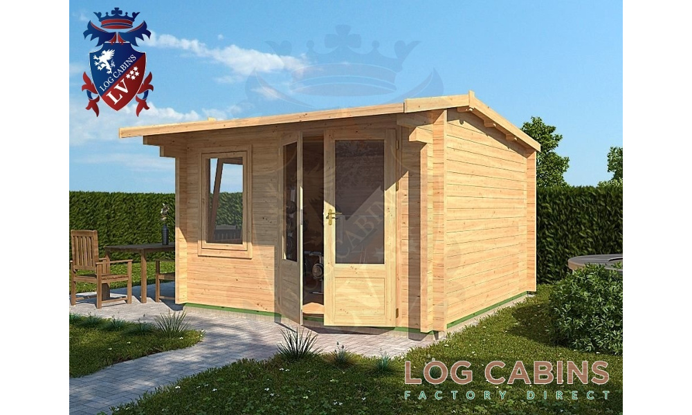Cambridge Log Cabin Alternative View
