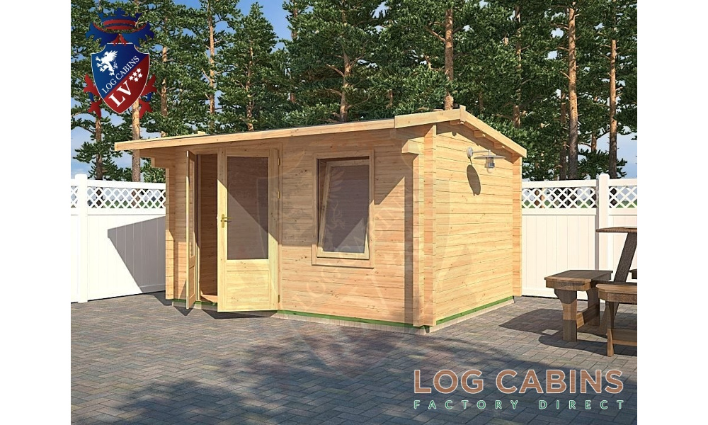 Cheltenham Log Cabin Alternative View