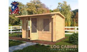 Colchester Log Cabin Alternative View