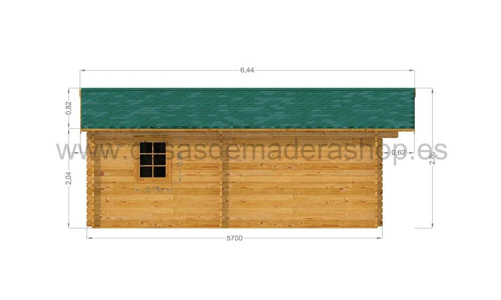 Eko Cabin Left Elevation