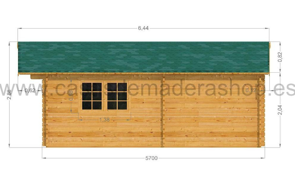Eko Cabin Right Elevation