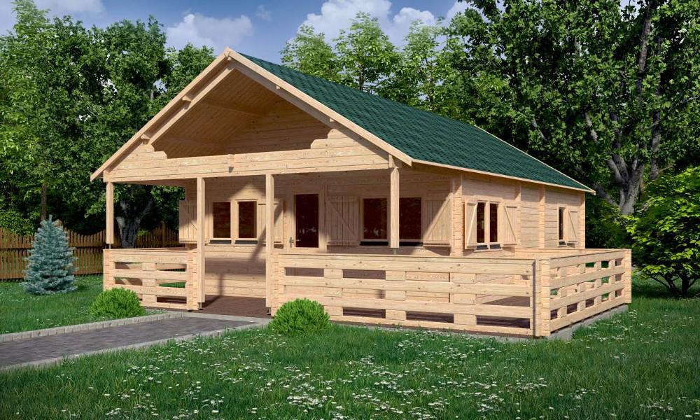 Gustav B Log Cabin