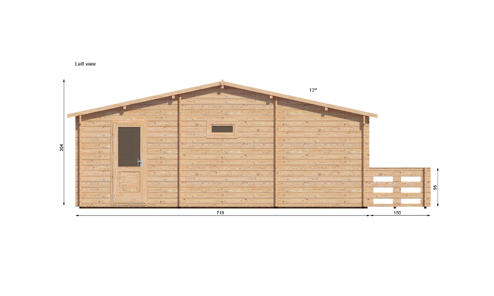 Hakan Cabin 7m X Prices From 8 300 Log Cabins
