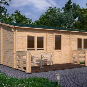 Hakan B Log Cabin