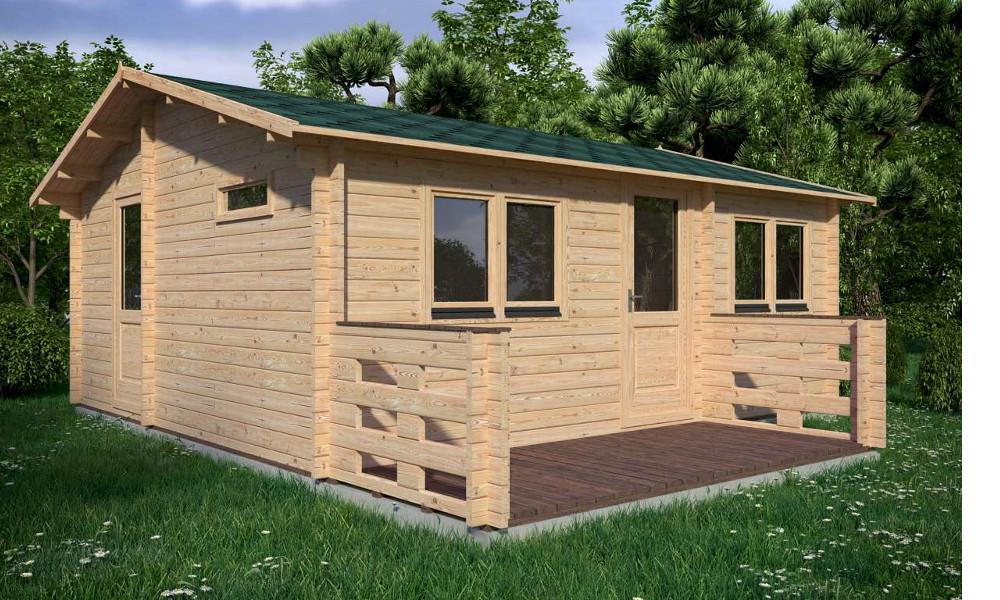Hakan Log Cabin