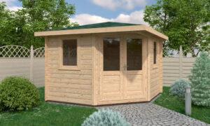 Hastings Log Cabin