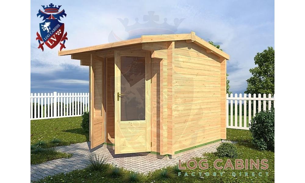 Helesworth Log Cabin Alternative View