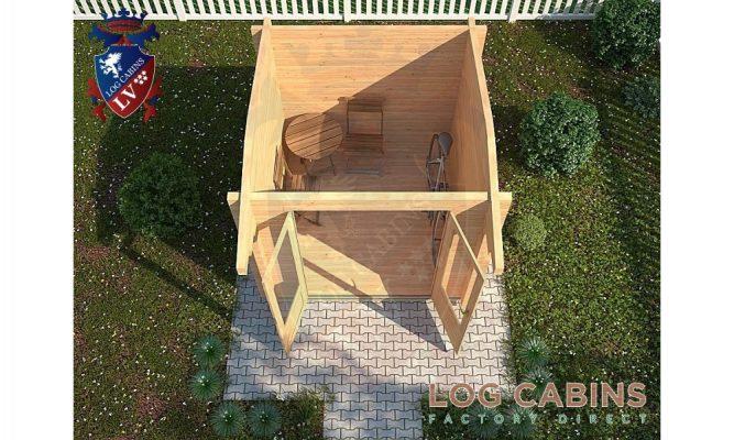 Helesworth Log Cabin Plan View