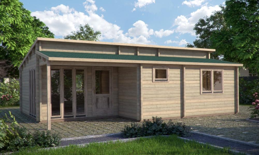 Iberica T2 Log Cabin