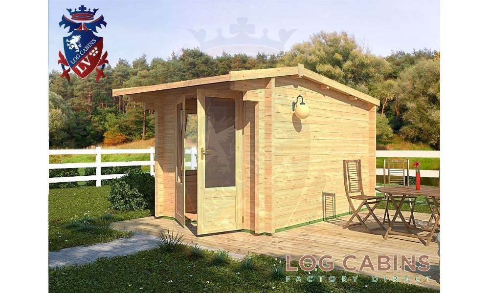King's Lynn Log Cabin Alternative View