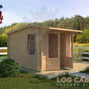King's Lynn Log Cabin