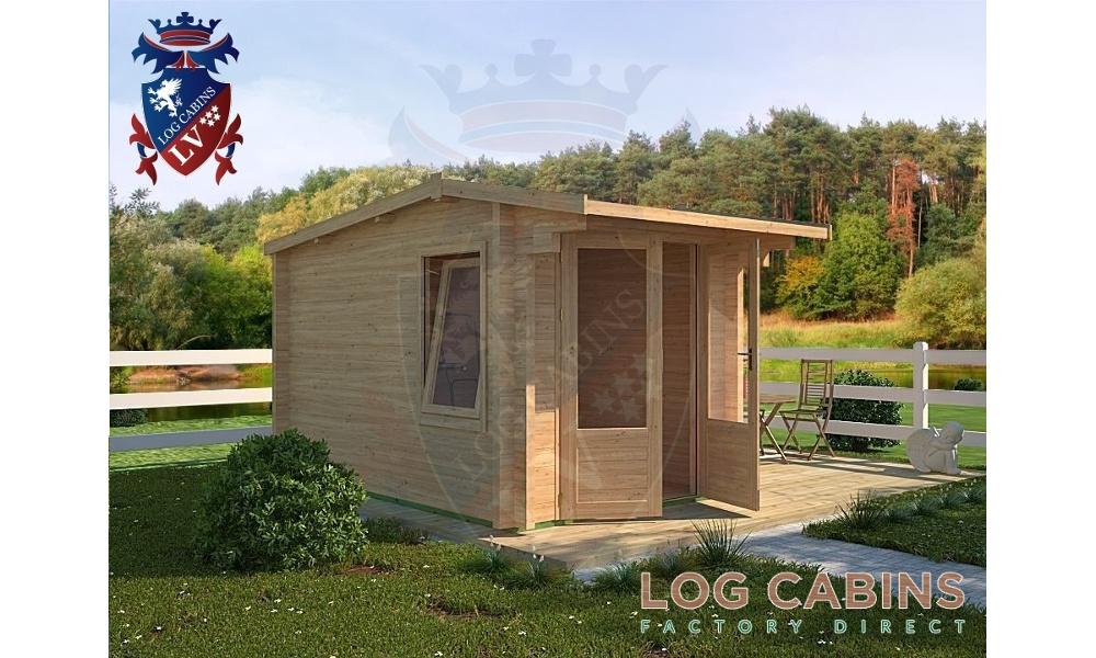 King's Lynn Log Cabin