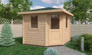 London Log Cabin