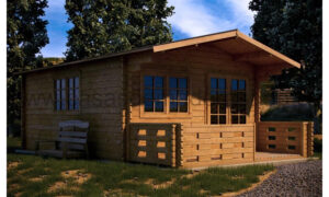 Lucas Log Cabin