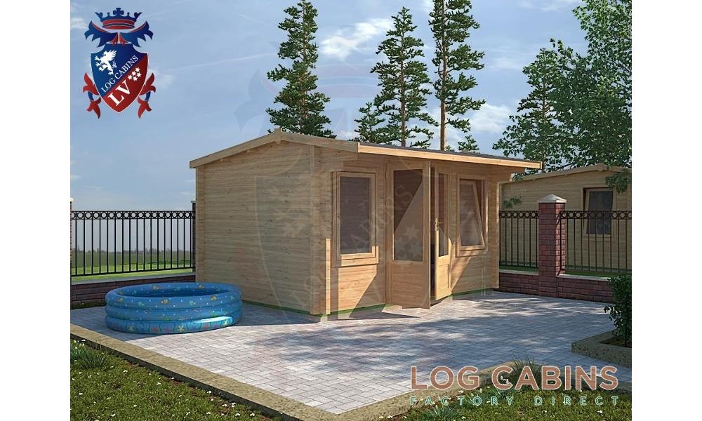 Northampton Log Cabin Alternative View