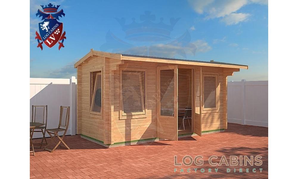 Norwich Log Cabin Alternative View