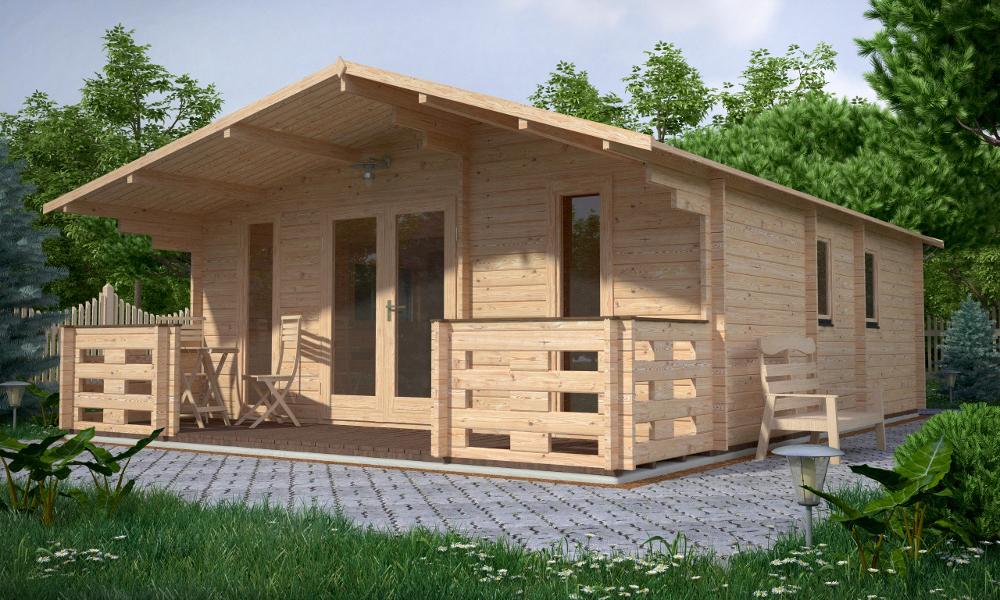 Padova B Log Cabin