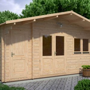 Roberto Log Cabin