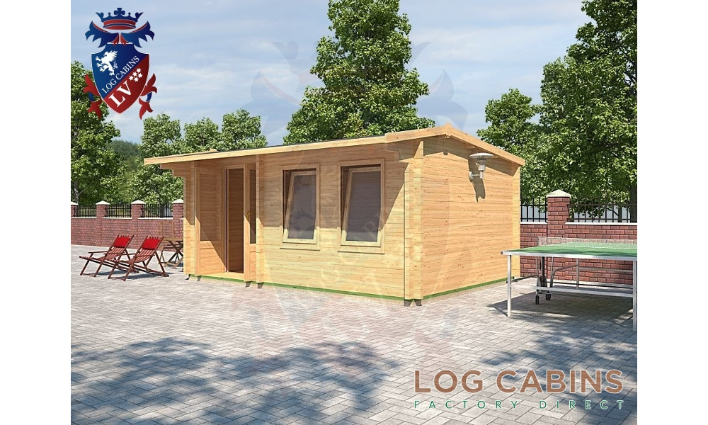 Shrewsbury Log Cabin Alternative View