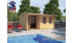 Shrewsbury Log Cabin