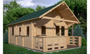Torino Log Cabin
