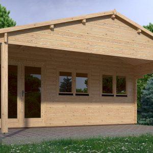 Oxford Log Cabin