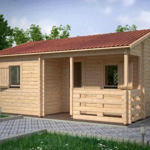 Veronica Log Cabin