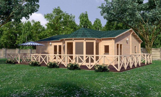 Vienna Log Cabin