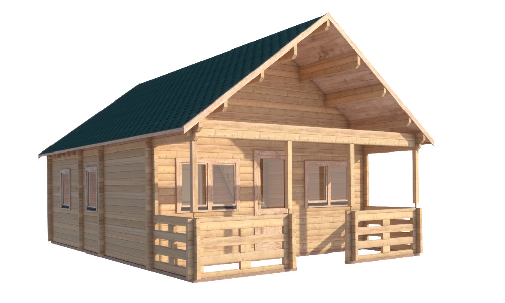 Max Log Cabin No Background