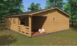 Riga Log Cabin