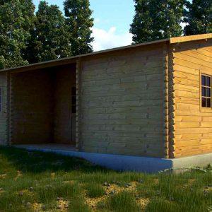 Scarlett Log Cabin